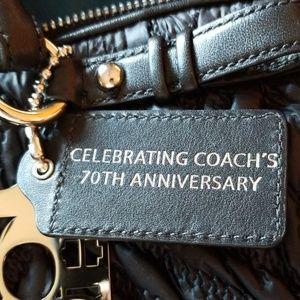 Coach Bags - Coach 70th Anniversary purse black